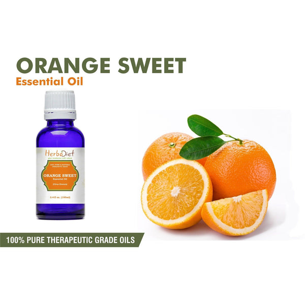 Essential Oil Singles - 100% Pure Sweet Orange Essential Oil PREMIUM Therapeutic Grade Oils