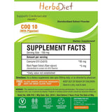 Proprietary Blend Extract Powders - PURE CoQ 10 Coenzyme Q10 Powder W/ Piperine 95% Heart Health USP Grade Japanese