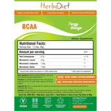 Sports Supplements - Herbadiet PURE BCAA 2:1:1 Branched Chain Amino Acids Muscle Recovery Care Powder