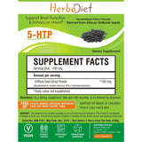 Standardized Extracts - Herbadiet 5-HTP Griffonia Powder Extract Skin Anti-Depressant Supplement