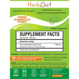 Standardized Extracts - Herbadiet Cissus Quadrangularis 50% Powder Extract Bone Strengthening Supplement