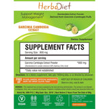Standardized Extracts - Herbadiet Garcinia Combogia 60% HCA Powder Extract Weight Loss Fat Burner Supplement | Buy Garcinia Cambogia Online