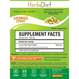 Standardized Extracts - Herbadiet Licorice Root 30% Powder Extract Glycyrrhiza Glabra Supplement