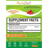Standardized Extracts - Herbadiet PURE Raspberry Ketones Powder Extract Supplement Weight Management