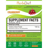 Standardized Extracts - PREMIUM Cranberry 50:1 Extract Powder 25% Anthocyanidins Healthy Urinary Tract