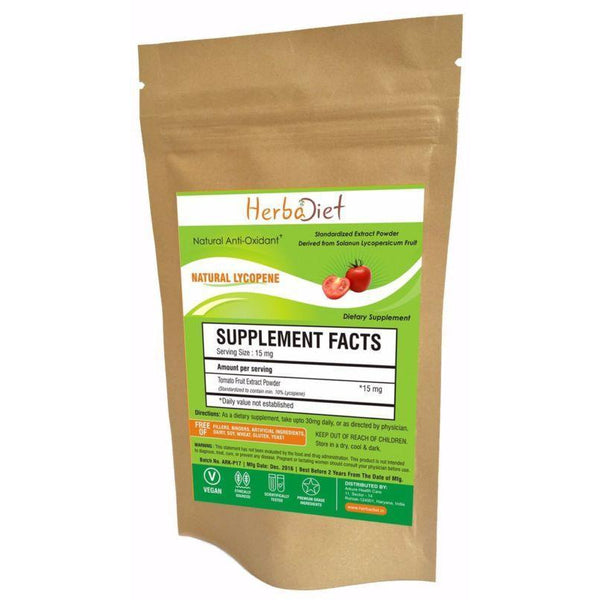 Standardized Extracts - Pure & Natural Lycopene 10% PREMIUM Tomato Extract Powder Antioxidant Free Ship