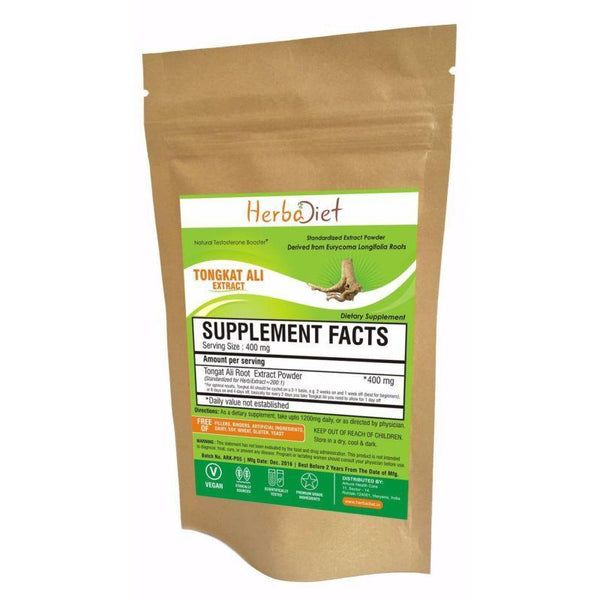 Standardized Extracts - Tongkat Ali Root Extract Powder 200:1 Eurycoma Longifolia Longjack Pasak Bumi