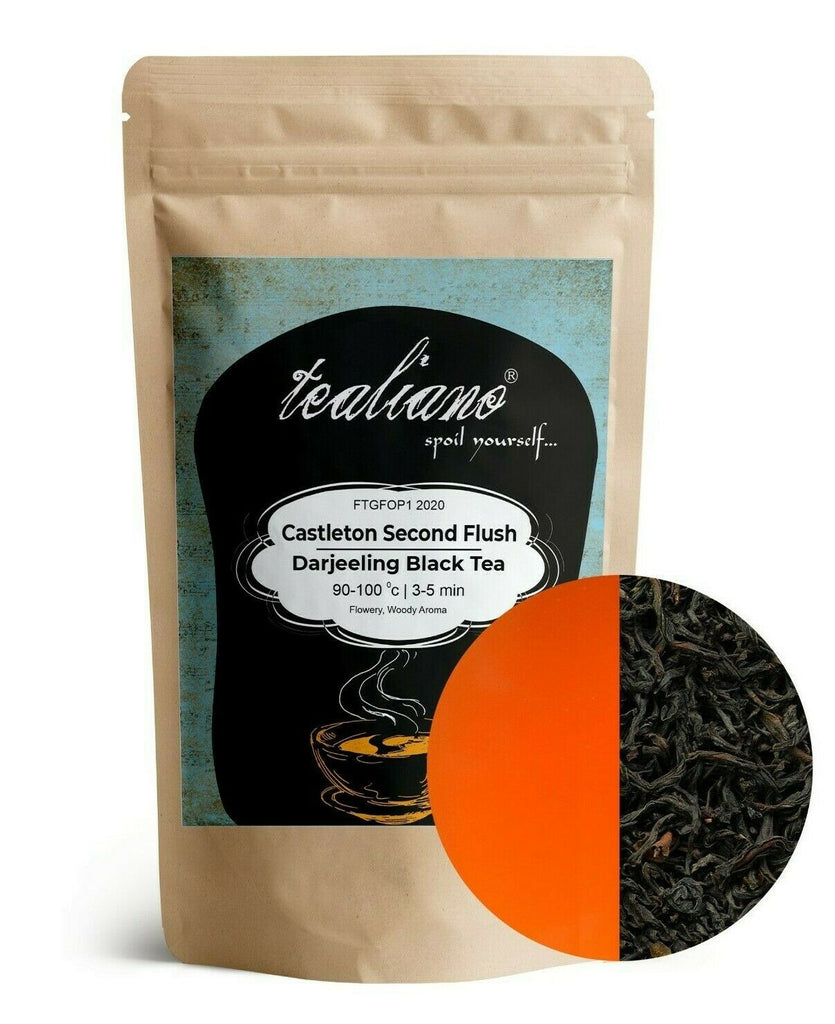 Darjeeling Tea First Flush | Castleton 2020 | Premium Black Loose Leaf Tea