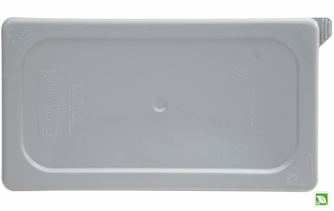 1/9 SIZE SECURE/SOFT SEALING LID GRAY
