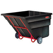 RUBBERMAID Tilt Truck, Standard Duty (Rotational Molded) BLACK