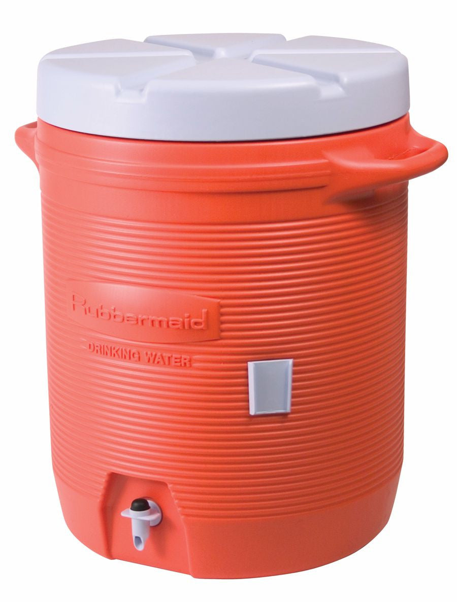INSULATED BEVERAGE CONTAINER 10gal ORANGE