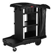 RUBBERMAID EXECUTIVE JANITORIAL CLEANING CART - HIGH CAPACITY