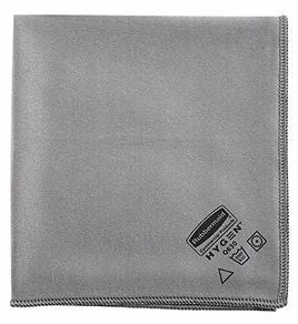"EXECUTIVE MICROFIBRE GLASS CLOTH 16 x 16"" GRAY"