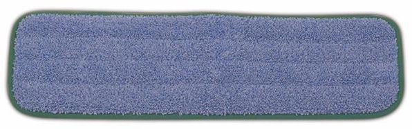 "MICROFIBER LIGHT COMMERCIAL 18"" DAMP MOP BLUE"