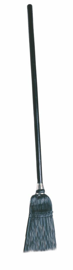 LOBBY DUST PAN BROOM BLACK