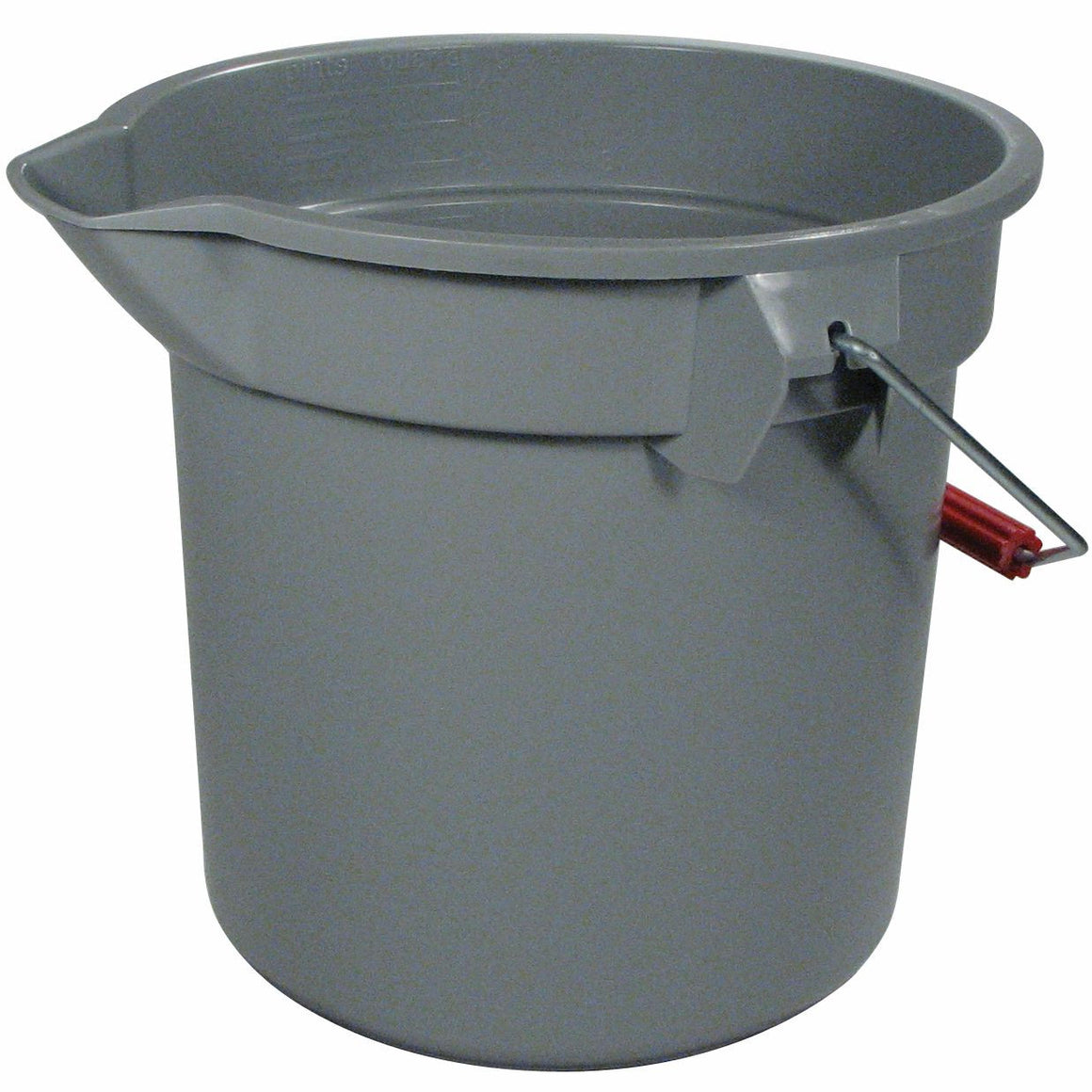 BRUTE BUCKET RD 14qt GRAY