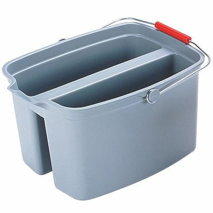 DOUBLE PAIL 19qt GRAY
