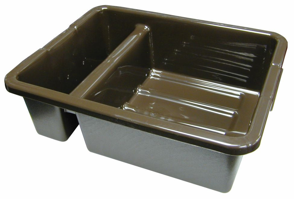 "DIVIDED BUS BOX  21½""x17-1/8""x7"" BROWN"