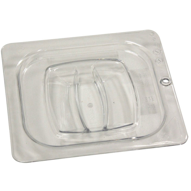 RUBBERMAID 1/6 SIZE COVER CLEAR