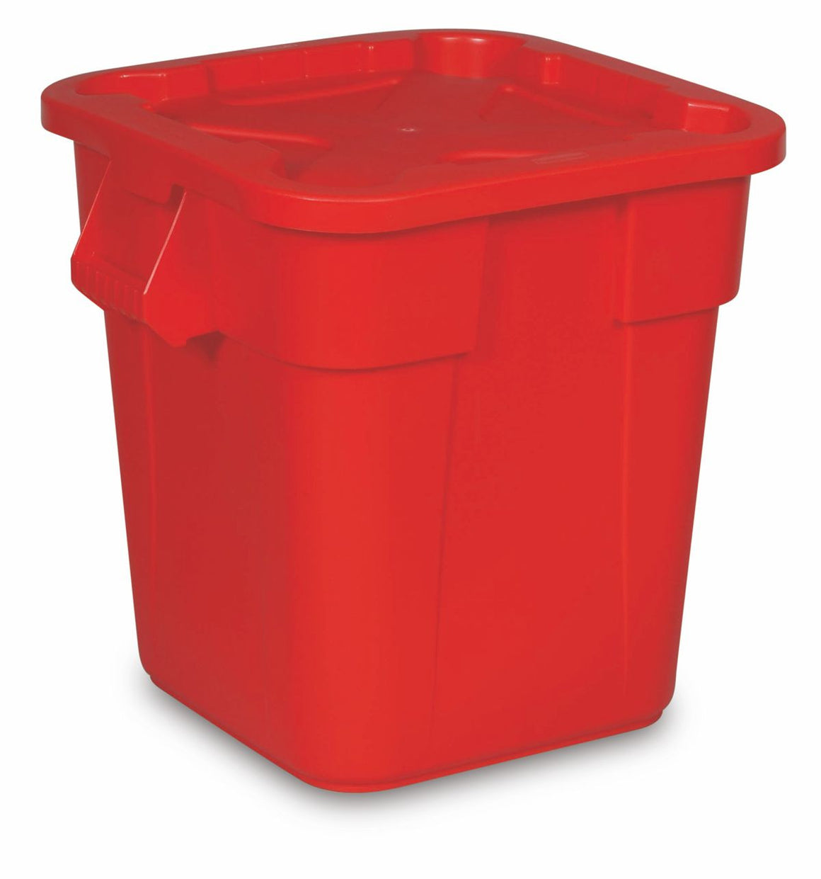 Sq CONT.28gal W/LID 3526/3529 COMBO PACK RED