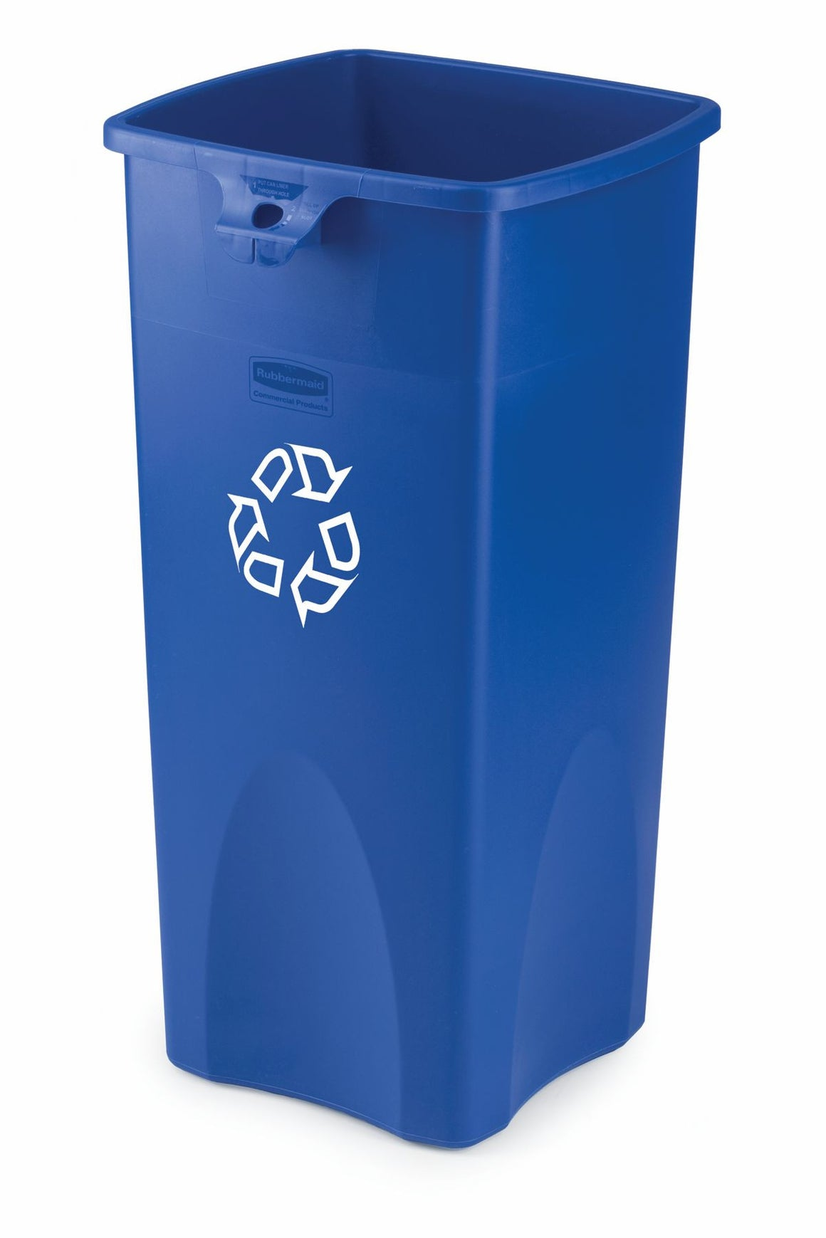 UT SQ RECYCLING CONTAINER BLUE