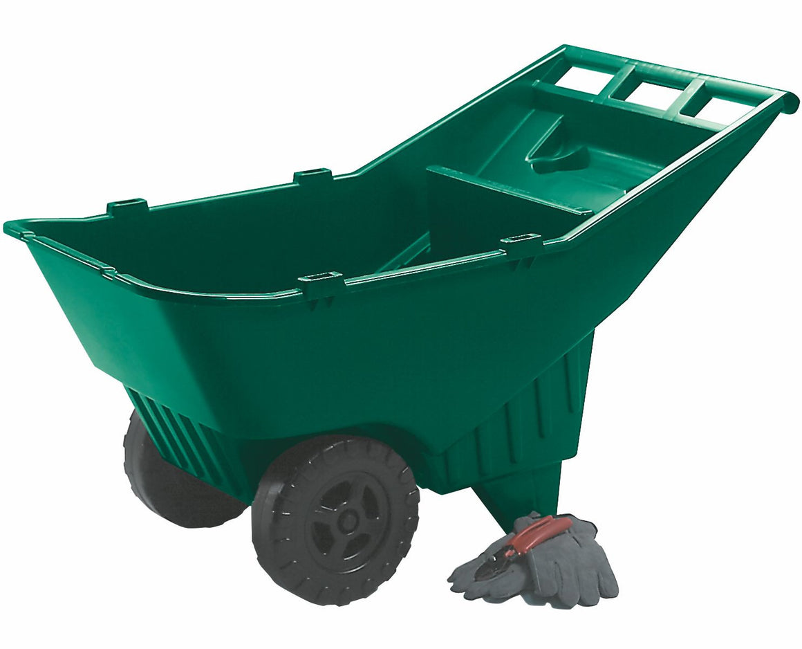 4.5cu.ft ROUGHNECK LAWN CART PALLET GREEN