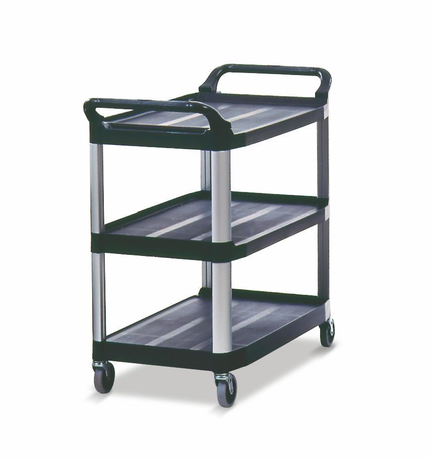 X-tra UTILITY CART OPEN SIDED BLACK