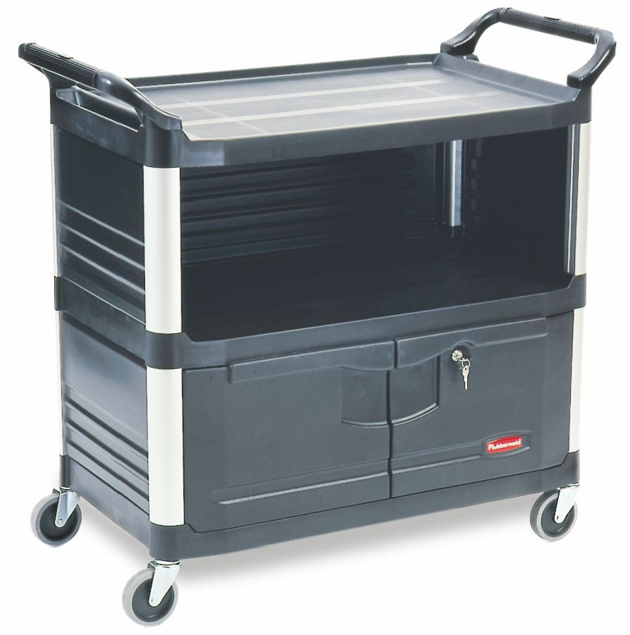 X-tra EQUIPMENT CART BLACK