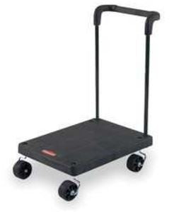"RUBBERMAID 23""x18""wx7¼""h TROLLEY BLACK"