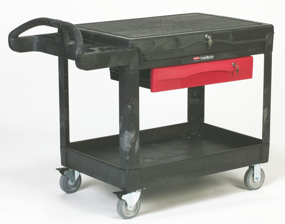 PROFESSIONAL CONTRACTORS CART BLACK
