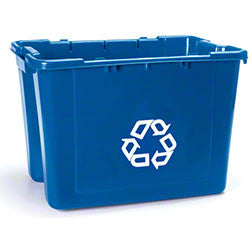 RUBBERMAID RECYCLE BOX 12½ GAL 50.8x39.1x34.3cm
