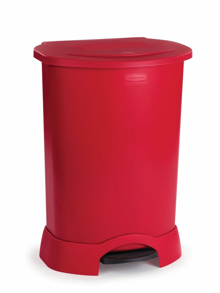 STEP ON CONTAINER 30gal/113.6-lit  RED