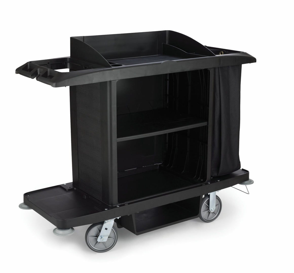 XTRA tm FULL SIZE  HOUSEKEEPING CART W/C-FABRIC