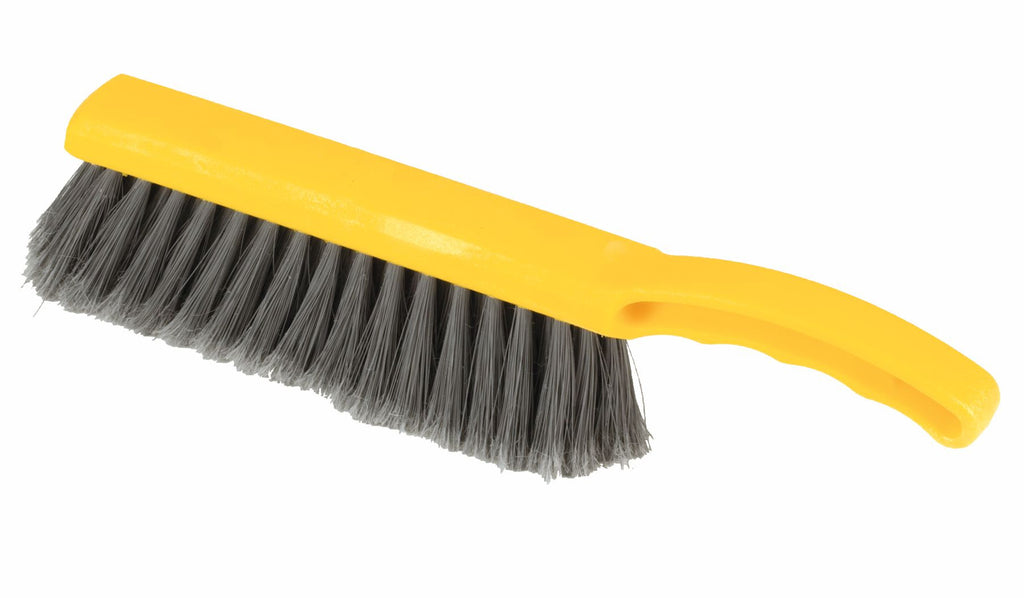 "12½"" PLASTIC COUNTER BRUSH SILVER"