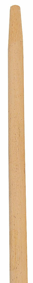 "60"" WOOD HANDLE  1-1/8"" NATURAL, TAPERED"