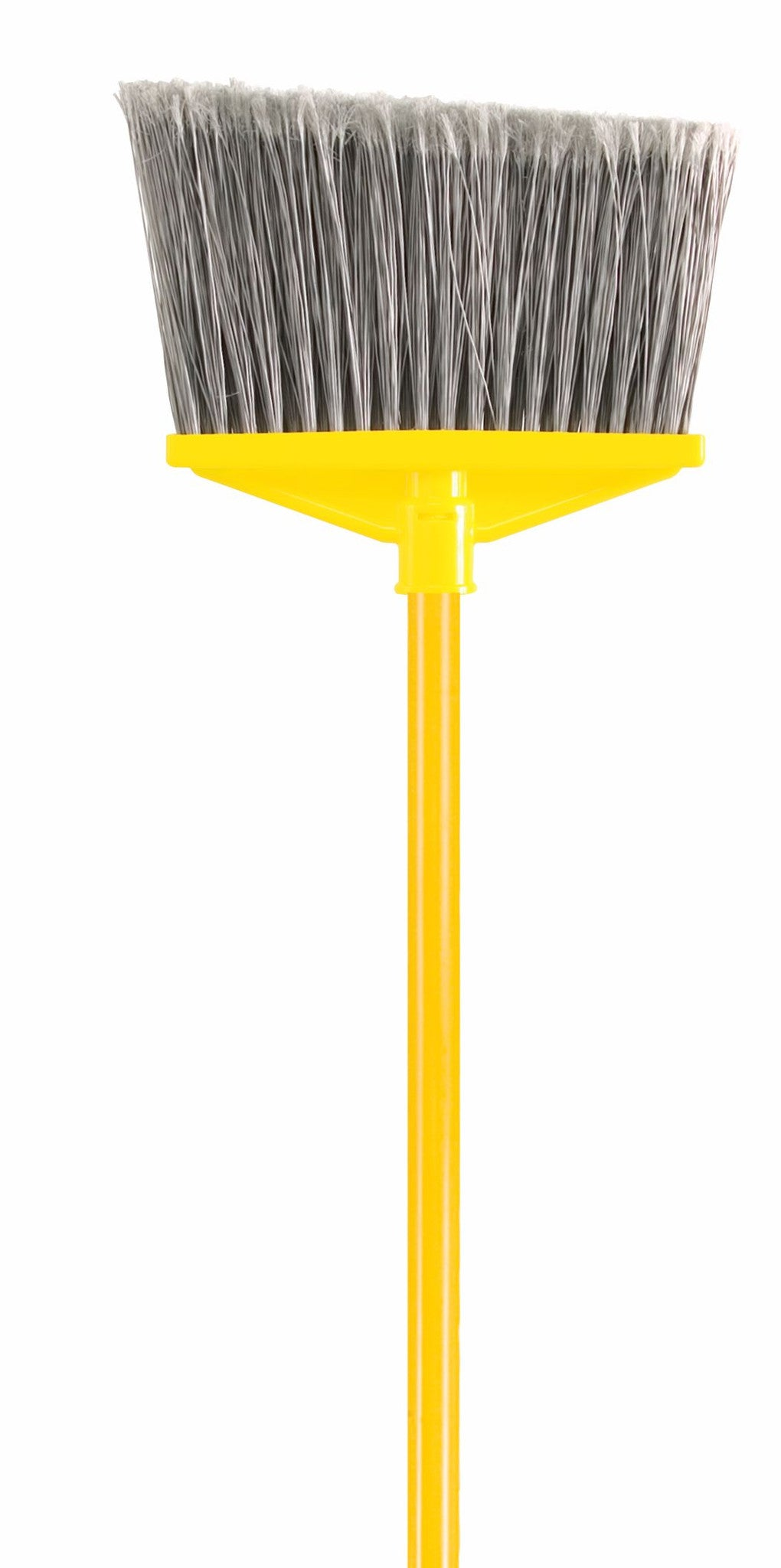 "FLAGGED BROOM 1"" DIA VINYL COATED METAL HANDLE"