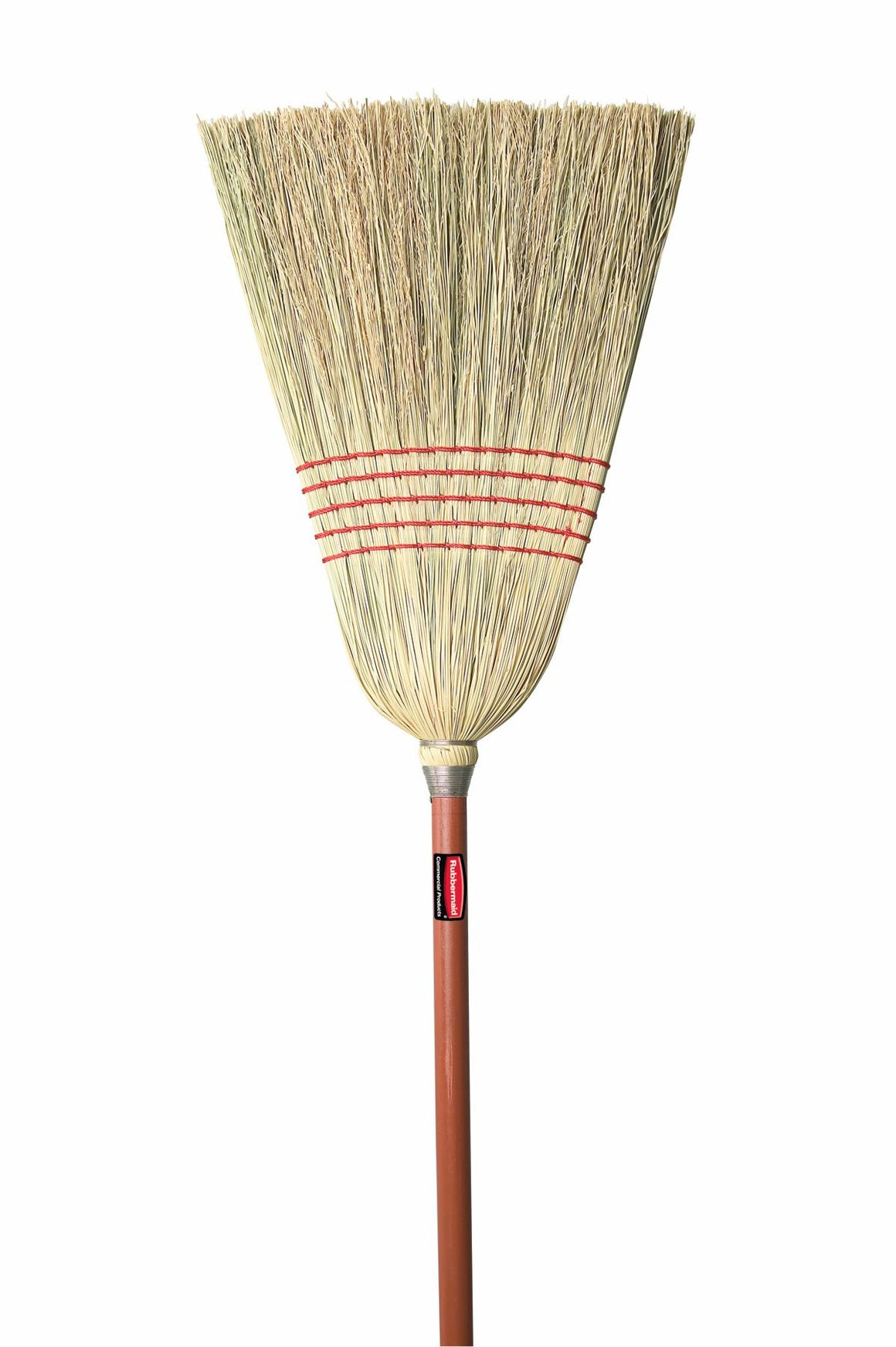 CORN BROOM RED