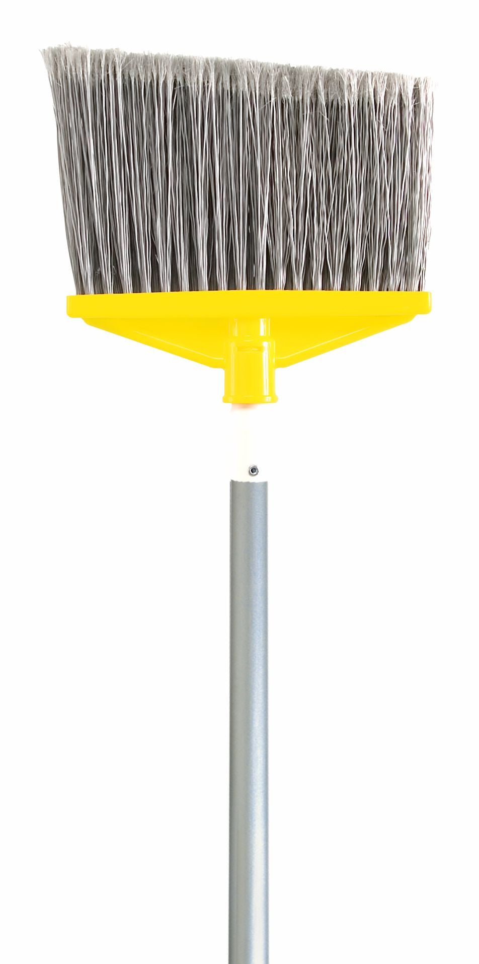 "FLAGGED BROOM 1"" DIA ALUM HANDLE"