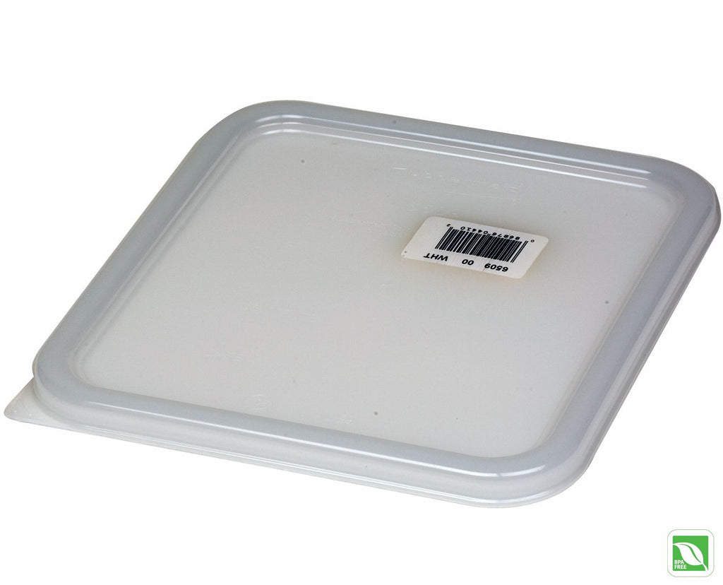 Sq LID WHITE Fits 6302,6304,6306,6308 Sq CONTAINER