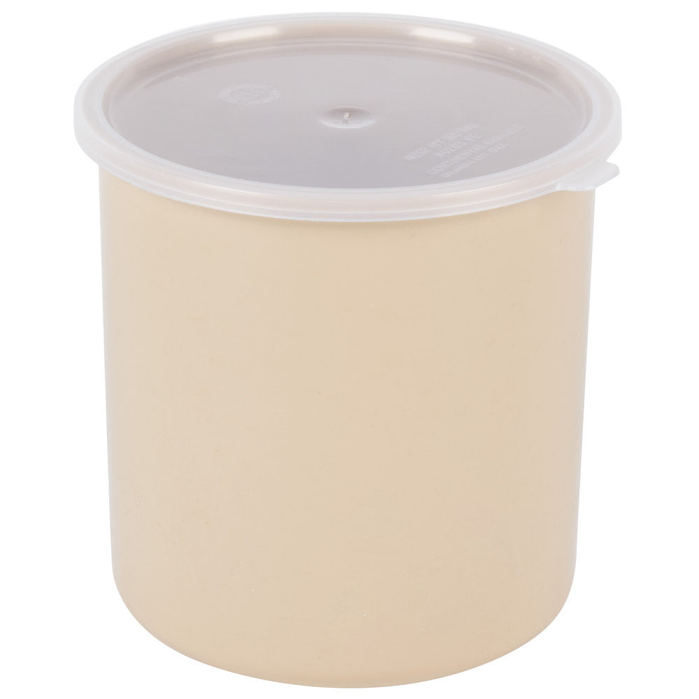 RUBBERMAID CROCK INSERT 2.7qt BEIGE