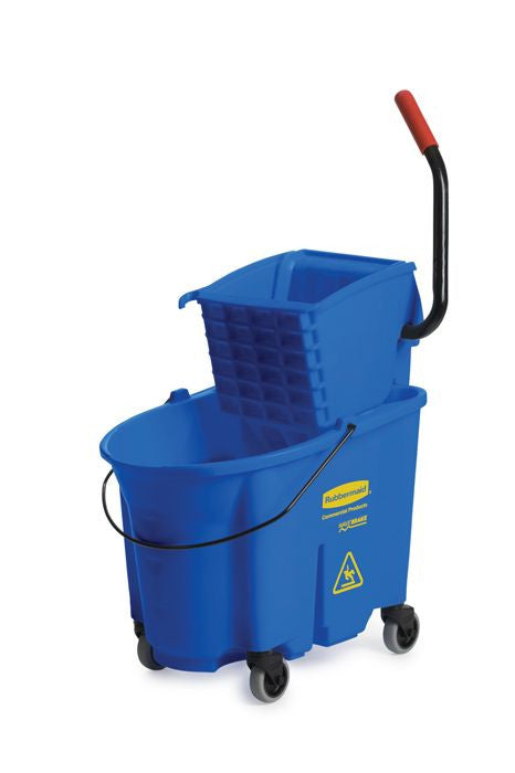 WB 35qt MOPPING COMBO SIDE PRESS BLUE