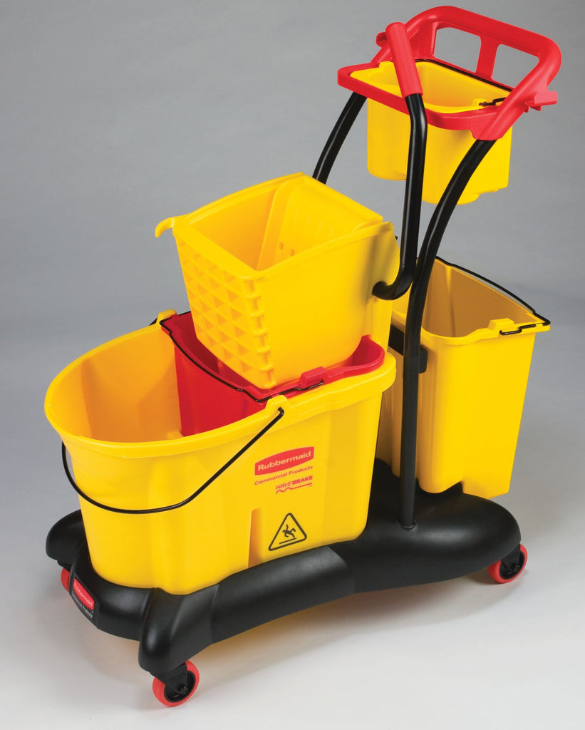 35qt WB MOPPING TROLLEY SIDE PRESS