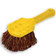 "RUBBERMAID 8"" SHORT PLASTIC HDL UTILITY BRUSH"