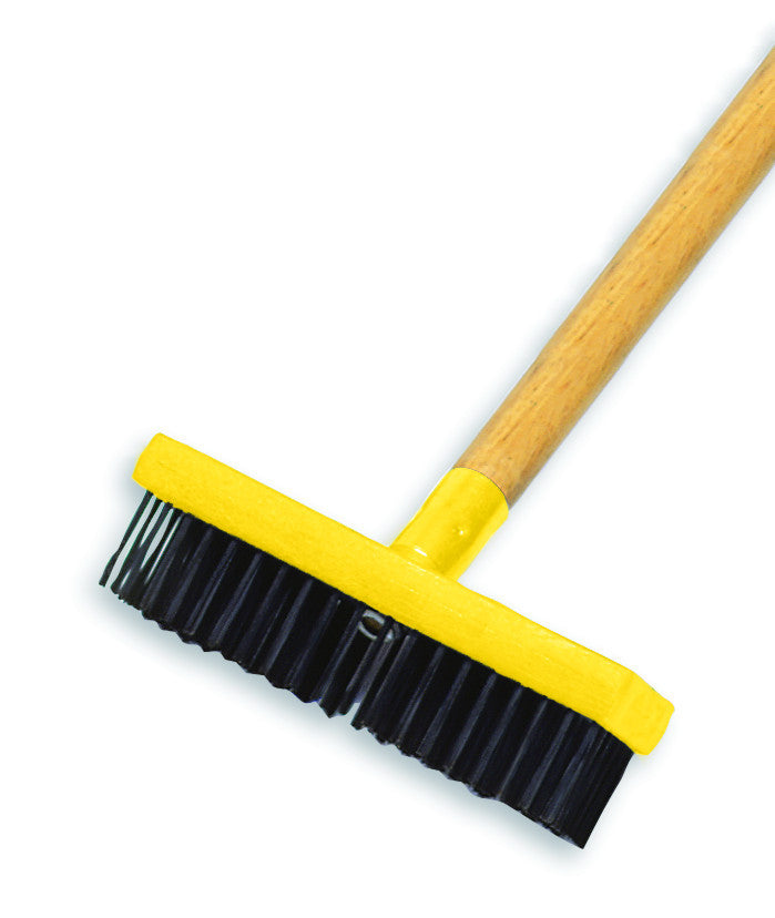 "7"" WIRE BRUSH, PLASTIC BUTCHER BLOCK HDL"