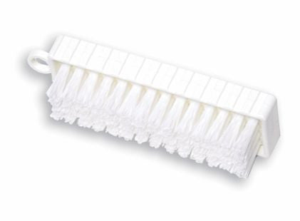 "4¾""PLASTIC HAND & NAIL BRUSH POLYPROPYLENE BRISTLE"