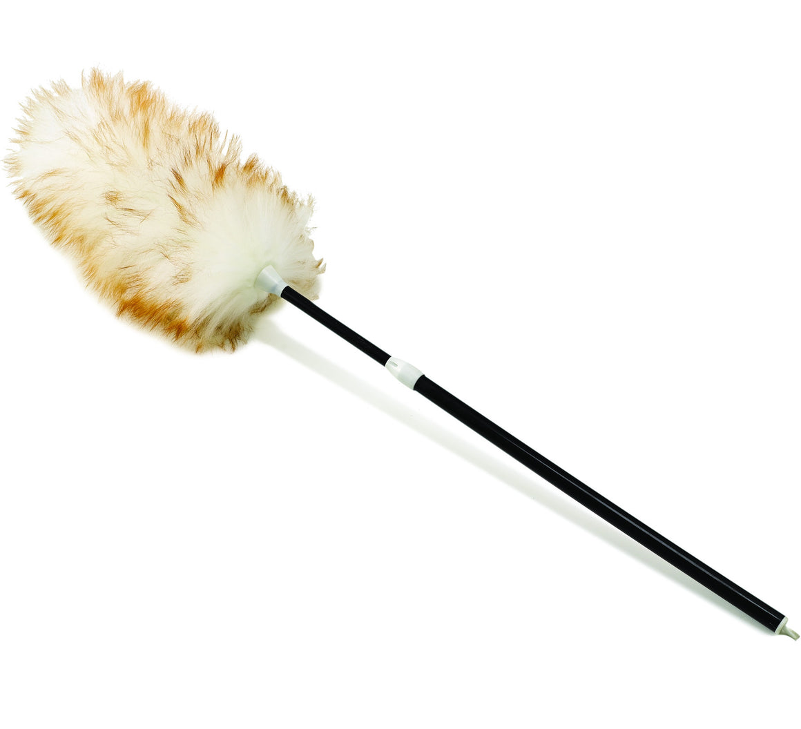 "30-42"" LAMBSWOOL DUSTER W/TELESCOPING PLASTIC HDL"