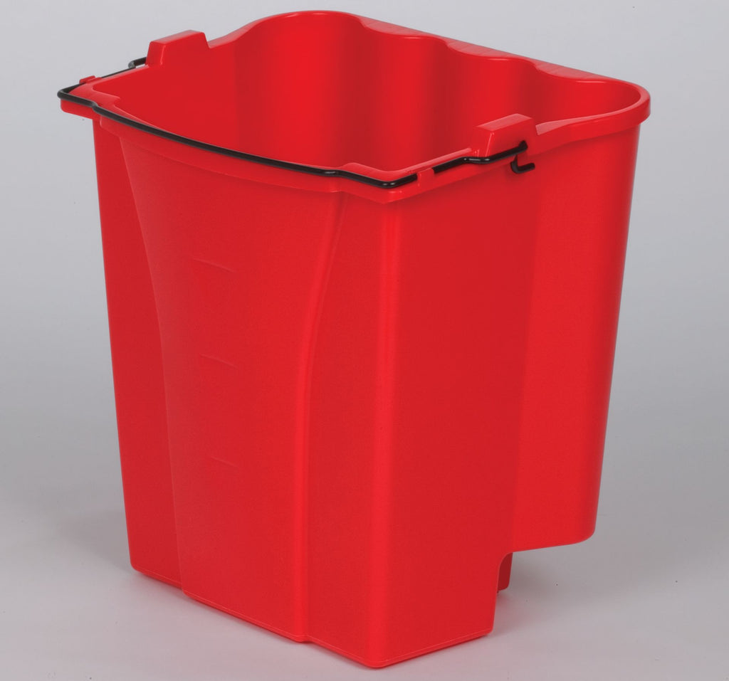 DIRTY WATER BUCKET RED