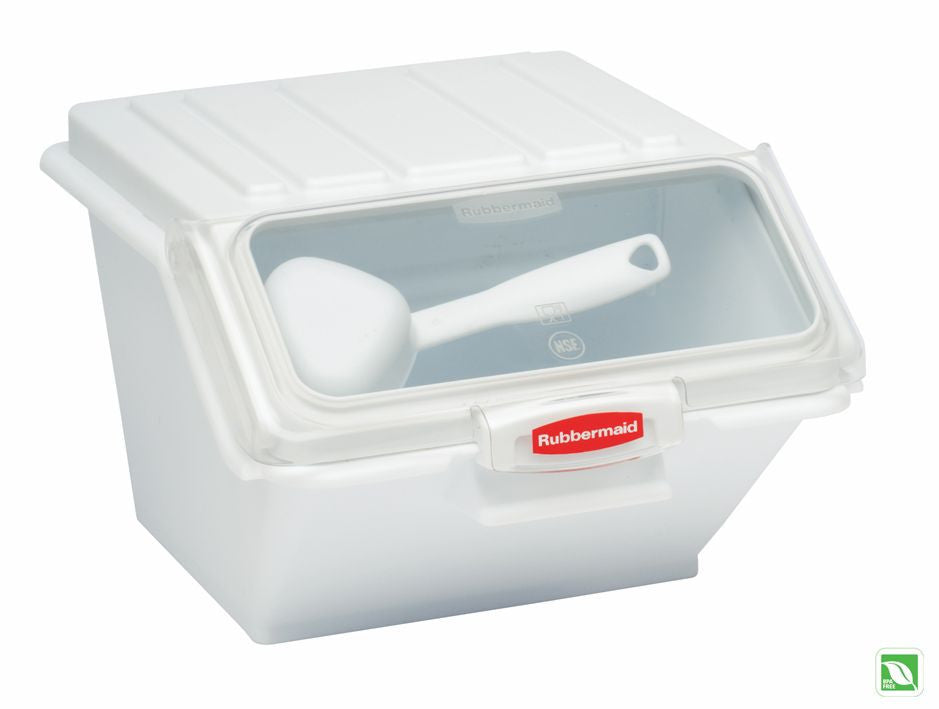 SHELF INGREDIENT BIN W/½CUP MEASURING SCOOP