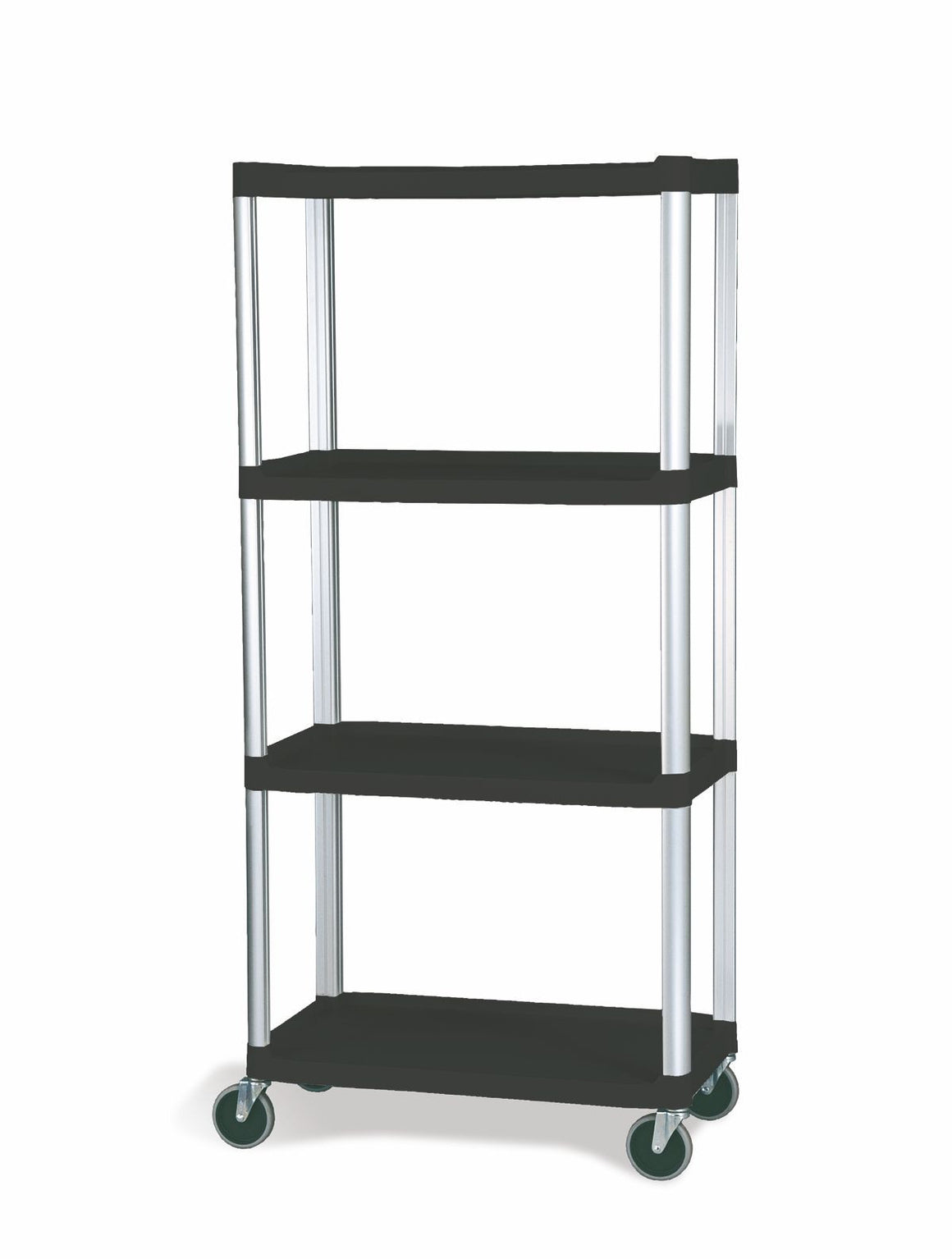 "MOBILE SHELF TRUCK 4-SHELF W/5""CASTER 2W/LOCK"