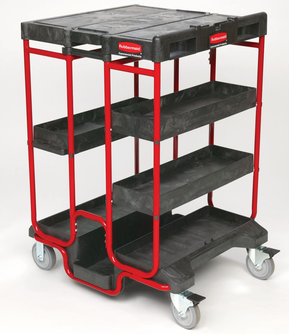 "LADDER CART 31.5x27x42"" BLACK"